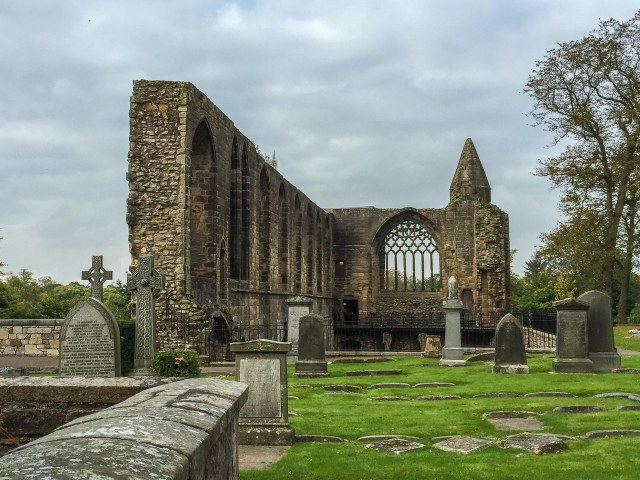 Photo by Amy Arden - Ruins of Dunfermline Abbey.